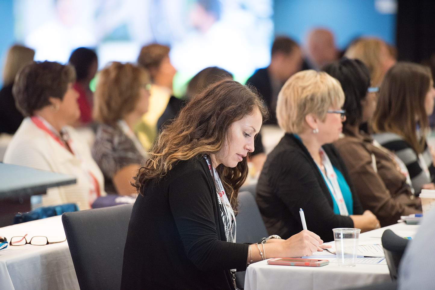 Woman at Conference